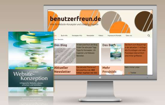 Website Benutzerfreunde Screenshot